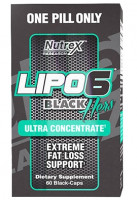 Жиросжигатель Nutrex LIPO-6 Black Hers Ultra concentrate 60 капс.