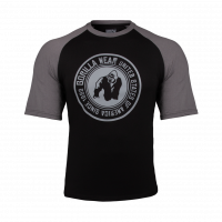 "Футболка для бодибилдинга Gorilla Wear ""Texas"" T-Shirts, черно-серая"