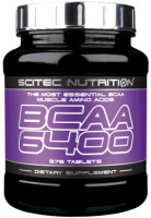BCAA Scitec Nutrition BCAA 6400 375 таб.