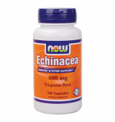 Витамины NOW Echinacea Root 400 mg 100 капс.